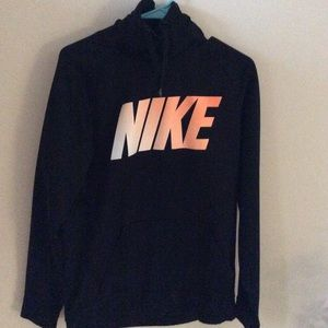 Youth Nike Dri Fit Hoodie Sweatshirt Size M